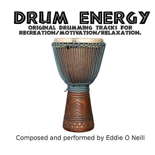 """""""Drum Energy"""" CD"""