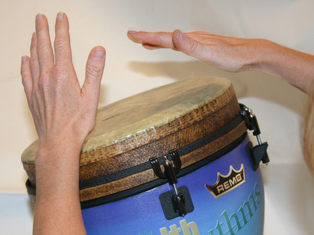 Drumming and Wellness...