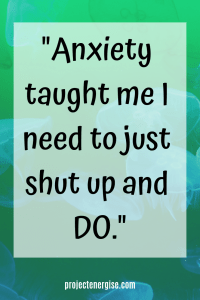 Anxiety!.....let's BEAT it...