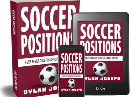 Soccer Positions - Book 6, Just Released!