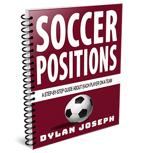Soccer Positions Book 6 on Spiral Bound