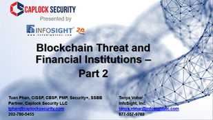 Blockchain Threat and Financial Institutions - Part 2