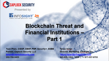 Blockchain Threat and Financial Institutions - Part 1