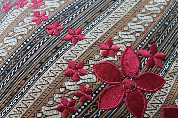 Sand Stripe Batik Cushion