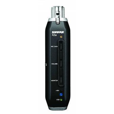 SHURE X2U Микрофонный аудиоинтерфейс