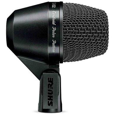 SHURE PGA52-XLR Кардиоидный динамический микрофон для бас-барабана