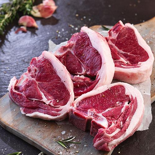 Loin Chops (4 per package)- per pound