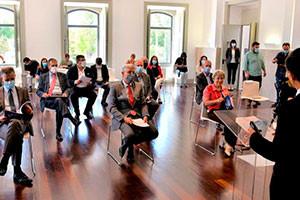 Rede Global da Diáspora inicia reuniões presenciais de negócios