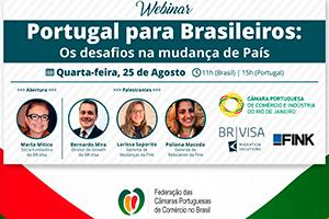 Portugal para brasileiros: evento online debate os desafios da mudança de país