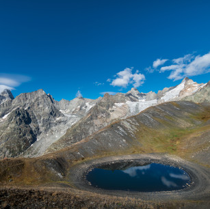 The Eye Of Mont Blanc | Col Ferret