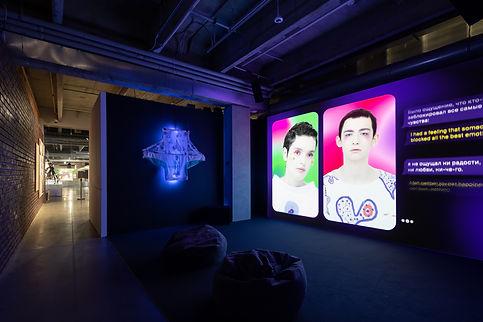 Albina Mokhryakova вид инсталляции, музе