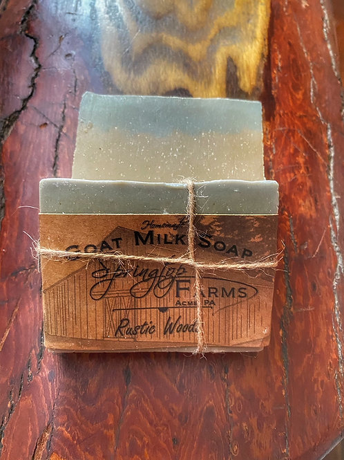 Rustic Woods Goat Milk Soap