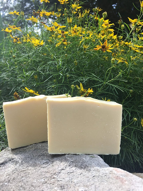 Unscented Homemade Goat Milk Soap