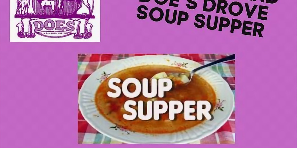 GI Doe's and Friends Soup Supper