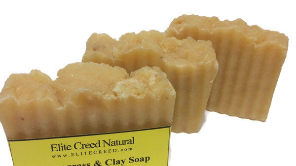 Lemongrass & Clay Handmade Soap