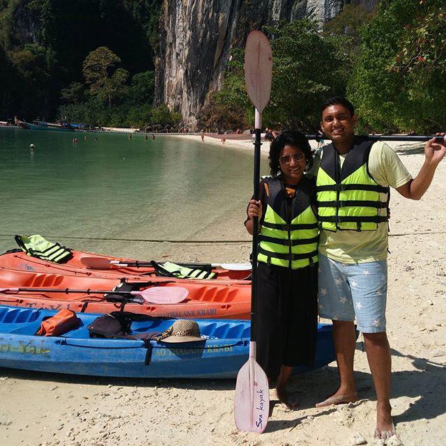 Sea Kayaking @ Hong Island Krabi