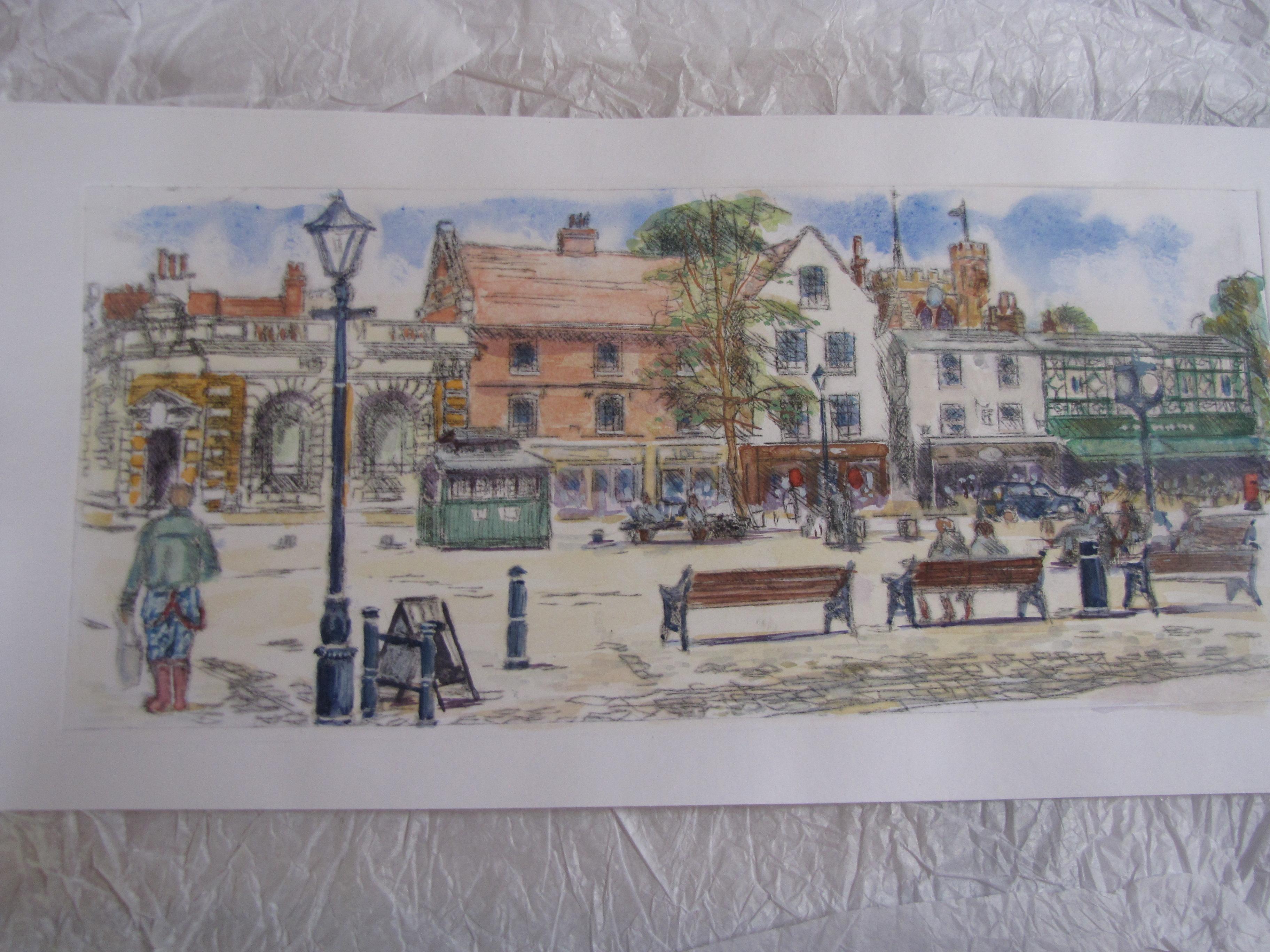 Market Square Hitchin