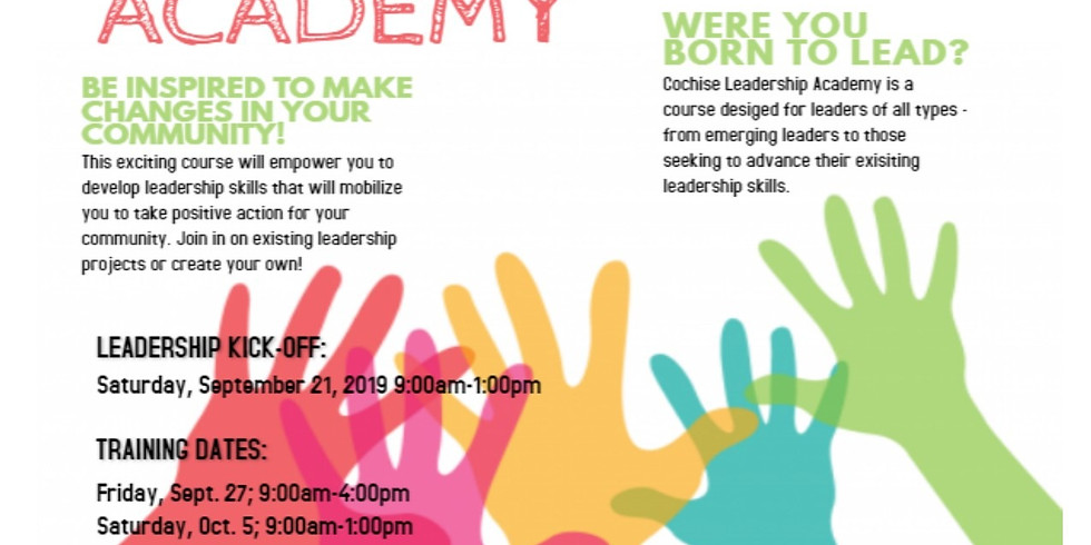 Cochise Leadership Academy - 2nd Cohort Sign Up