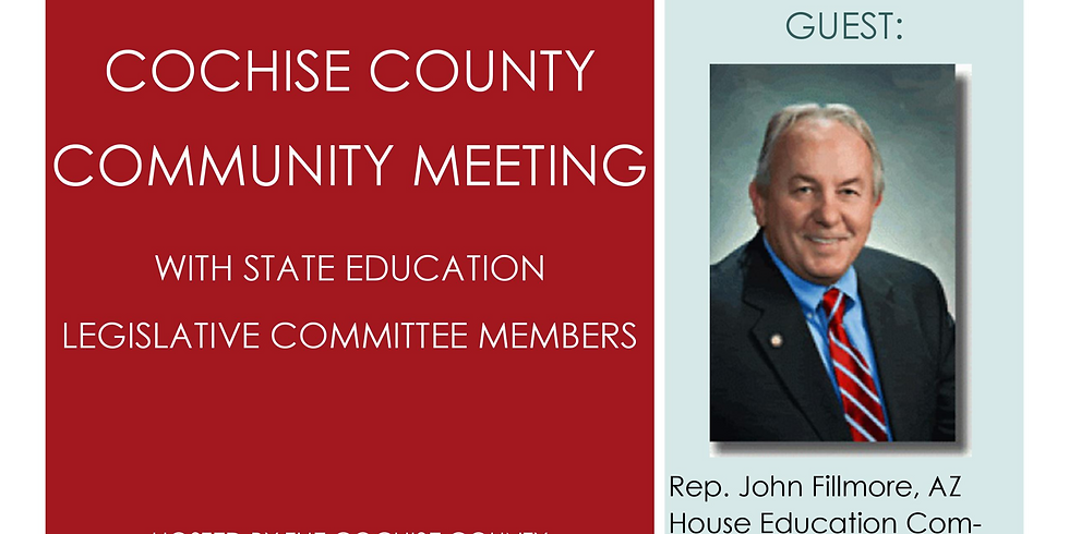 Rep. Fillmore Luncheon and Community Meeting