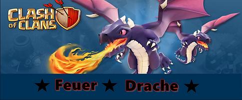 Partner Banner Clash of Clans - Feuer Drache