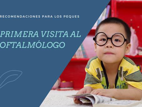 Niñ@s: Primera visita al oftalmólogo