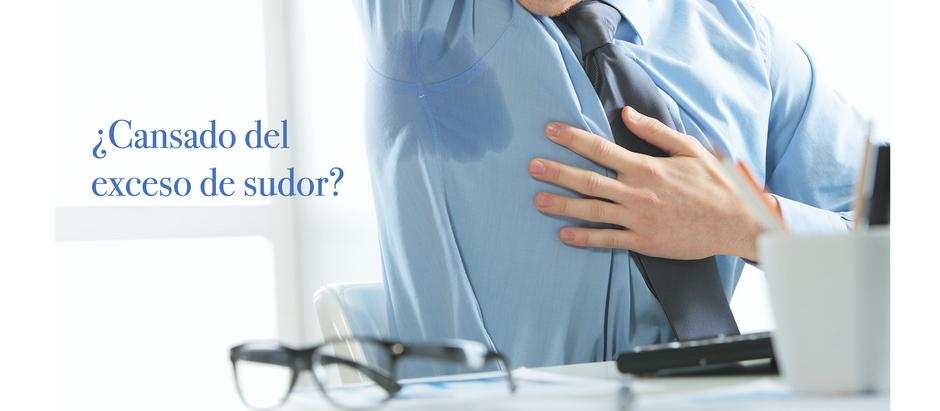 ¿Cansado del exceso de sudor?