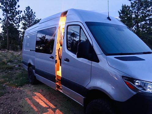 Mercedes-Benz Sprinter Van Window Cover Crew Complete Kit