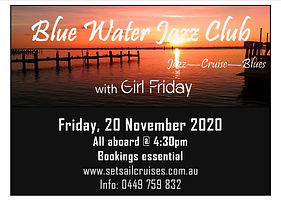 Girl Friday Sunset Cruise November 2020.