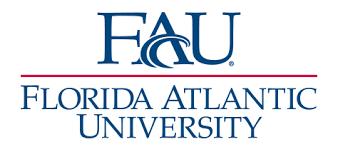 Florida Atlantic University logo - training client