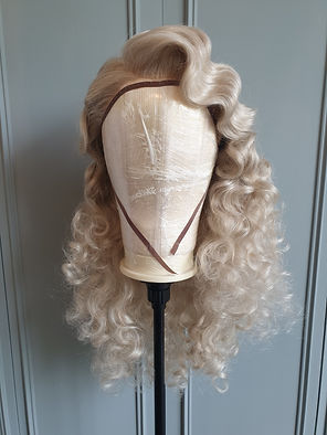 WIG WHAM BAMB WIG MAINTENANCE AND REPAIR - BLONDE STARLET HOLLYWOOD