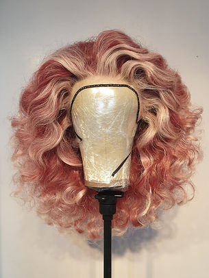 Pink Wig RuPaul style - Wig Maintenance and Repair Services