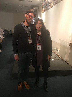 Contaf 2019 com Jeremy Randall