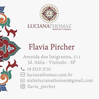 cartão Flavia Pircher