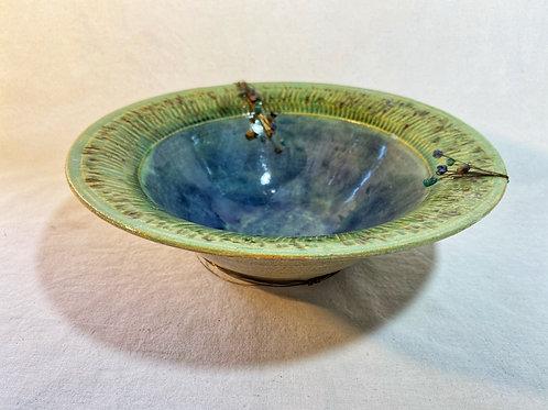 bowl azul e verde