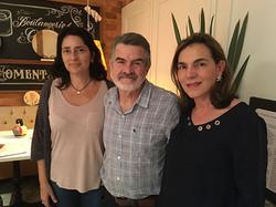 Sarro, Sandra e eu