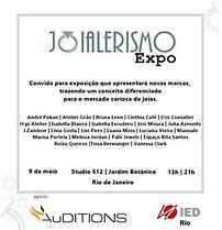 Joialerismo Expo 1a Edição