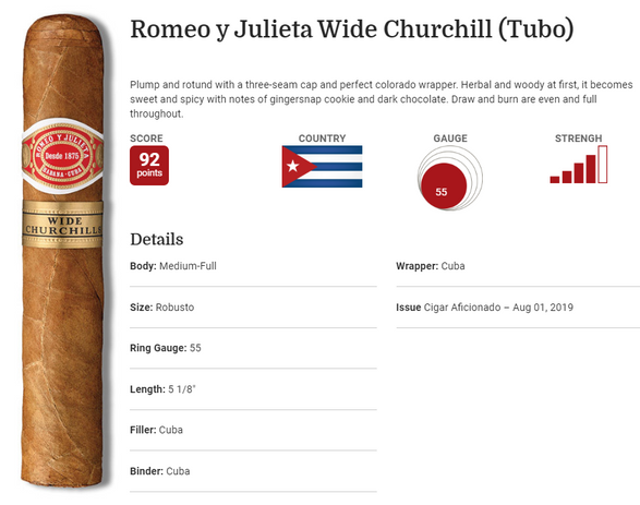 Wide Churchill Rating