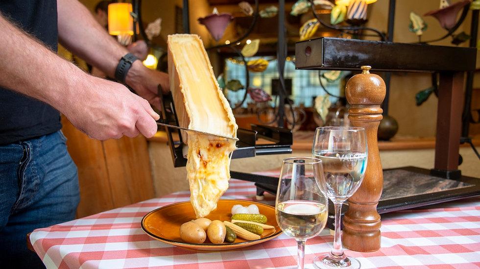 Raclette-Plausch für 5 Personen