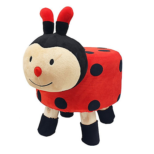 Cute Animal Footstool Ladybird