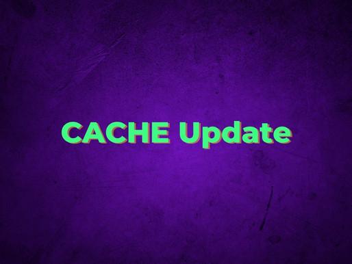 CACHE update