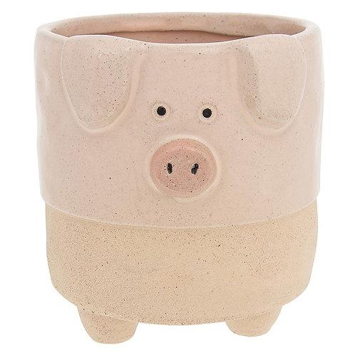Pot Pals Pig Large Planter