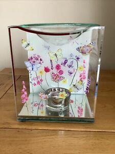 Butterfly Garden Glass Wax Melt & Oil Burner