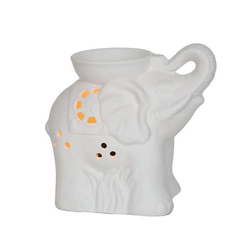 Electric Wax Melt Burner - Ceramic Elephant