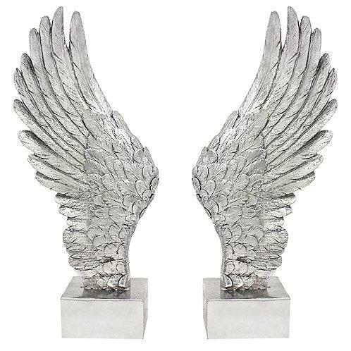 LEONARDO Silver Art Angel Wings