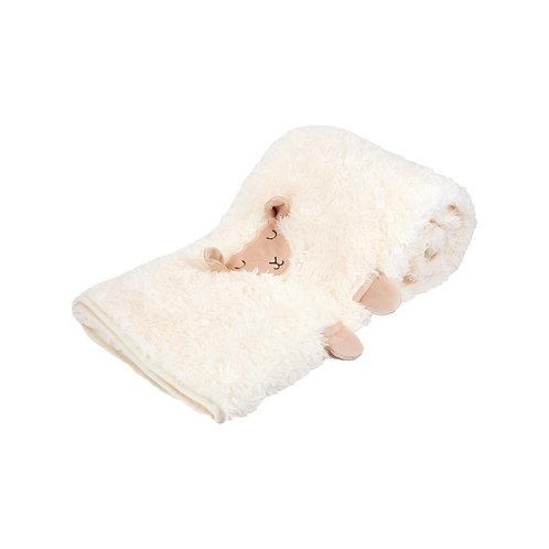 BAA SHEEP SOFT FLEECE BABY BLANKET