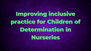 Improving inclusive practice for Children of Determination in Nurseries