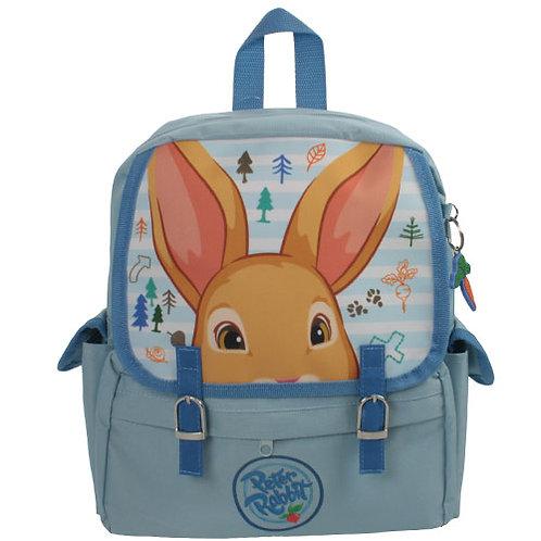 Peter Rabbit Woodland Baby Blue Children's Buckle Effect Backpack