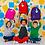 Thumbnail: Fuchsia Kids Backpack
