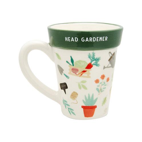 Head Gardener Plant Pot Mug