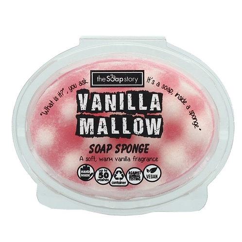 The Soap Story Massaging Sponge -Vanilla Melow